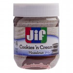 Jif Cookies 'n Cream Hazelnut Spread 368g
