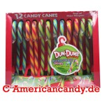 Dum Dums Candy Canes Blue Raspberry,Cherry,Watermelon