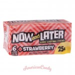 Now and Later Strawberry Chews