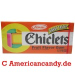 Adams Chiclets Fruit Flavor Gum