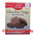 Betty Crocker Chocolate Fudge Brownie Mix 415g