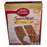 Betty Crocker Super Moist Carrot Cake Mix 432g
