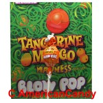 Charms Blow Pop Tangerine Mango Madness Lollipop