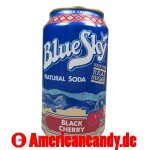 Blue Sky Black Cherry Soda incl. Pfand