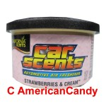 California Car Scents Lufterfrischer Strawberries & Cream