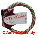 Spangler Candy Wreath Happy Holidays