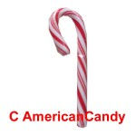 KN�LLER  50x Spangler Mini Candy Canes Peppermint