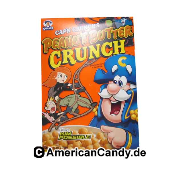 ... USA Shop - americancandy - - Cap'n Crunch's Peanut Butter Crunch ...