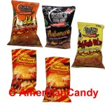 KN�LLER  5 x Chips Mix USA