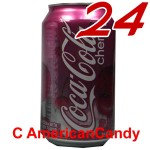 24x Coca Cola Cherry USA incl. Pfand
