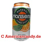 Hansen's Natural Soda Mandarin Lime incl. Pfand