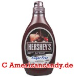 Hershey's Syrup Genuine Chocolate Flavor sugar free 496g