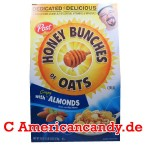 Post Honey Bunches of Oats with Almonds Cereals 510g