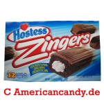 Hostess Zingers Iced Devil's Food Cake (12 single Cakes) 432g