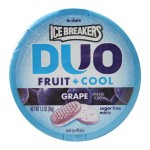 Ice Breakers Mints DUO Fruit + Cool Grape sugar free