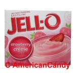 Jell-O Strawberry Cr�me Instant Pudding & Pie Filling