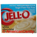 Jell-O White Chocolate Instant Pudding & Pie Filling sugar free