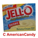 Jell-O Banana Cream Instant Pudding & Pie Filling sugar free