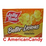 Jolly Time Microwave Popcorn Butter Licious Original Butter 100g