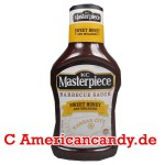 KC Masterpiece Sweet Honey and Molasses BBQ Sauce 510g