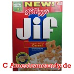 Kellogg's JIF Peanut Butter Cereal 258g