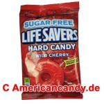 Lifesavers Hard Candy Wild Cherry Sugar free 78g