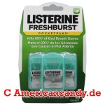 "Listerine 3er Pocket Paks ""Fresh Burst"""
