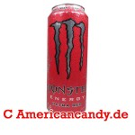 Monster Ultra Red Energy Drink 500 ml incl. Pfand