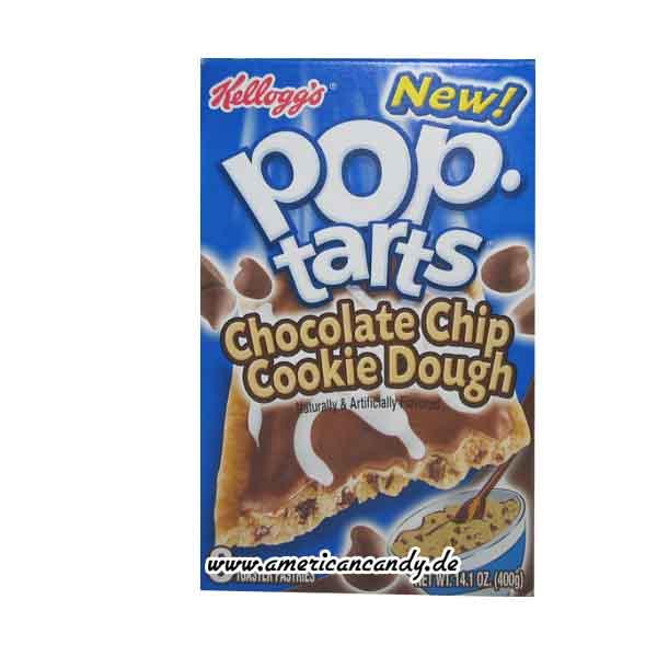 ... - - Pop Tarts Chocolate Chip Cookie Dough (2 Toast-Taschen