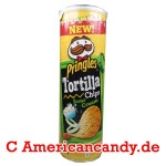 Pringles Tortilla Chips Sour Cream