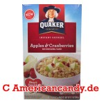 Quaker Instant Oatmeal Apples & Cranberries 344g