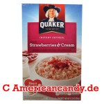 Quaker Instant Oatmeal Strawberries & Cream 350g