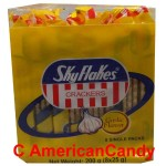 SkyFlakes Crackers Garlic Flavor 200g