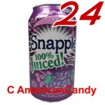 24x Snapple Grape incl. Pfand