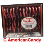 Spangler Candy Canes Strawberry 170g