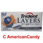 Trident Layers Juicy Berry + Tangy Tangerine 14er