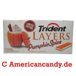 Trident Layers Pumpkin Spice limited edition