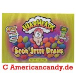 Warheads Sour Jelly Beans 113g