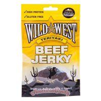 Wild West Beef Jerky Teriyaki