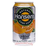 Hansen's Natural Soda Mango Orange