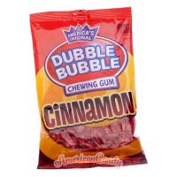 America's original Dubble Bubble Bubble Gum Cinnamon