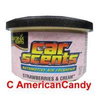 California Car Scents Lufterfrischer Strawberries & Cream