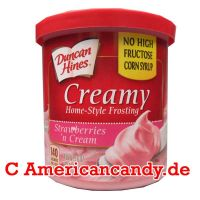 Duncan Hines Creamy Strawberries 'n Cream Frosting 454g
