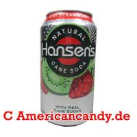 Hansen's Natural Soda Kiwi Strawberry