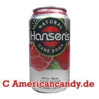 Hansen's Natural Soda Pomegranate