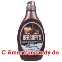 Hershey's Syrup Genuine Chocolate Flavor sugar free 496g