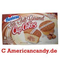 Hostess Sea Salt Caramel Cup Cakes (8 single Cakes) 360g