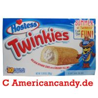 Hostess Twinkies (10 single Cakes) 385g