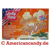 Jolly Time Microwave Popcorn Jalapeno Butter 85g