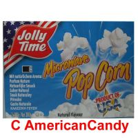 Jolly Time Microwave Popcorn Natural 100g